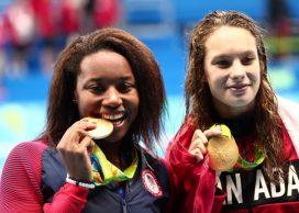 simone-manuel-penny-oleksiak-gold-medal-rio