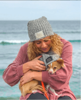 Beisel and Her Dog