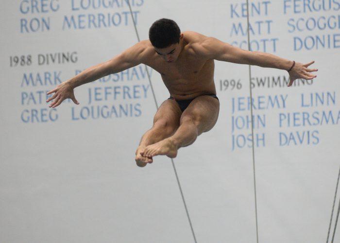 Event 27 - Men's 1 mtr Diving