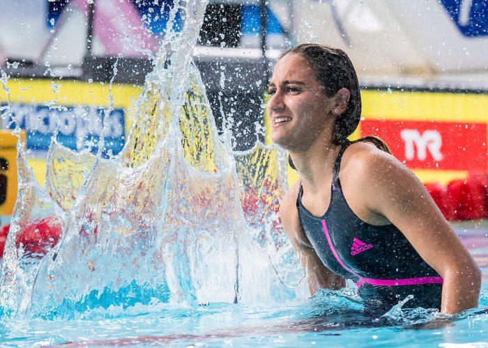 simona quadarella, best women's swimmers