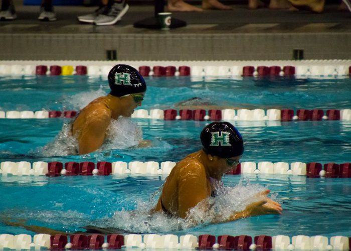 UH Two breaststrokers