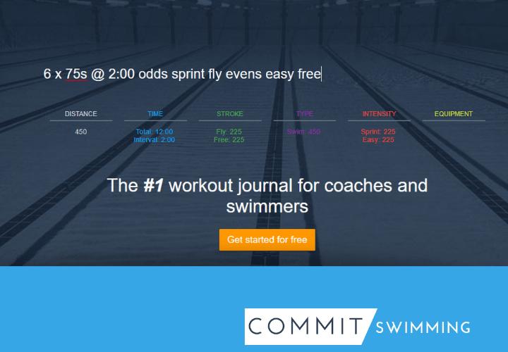 Commit Swimming Personal Settings