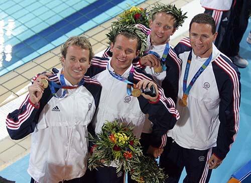 Jason Lezak Athens Olympics