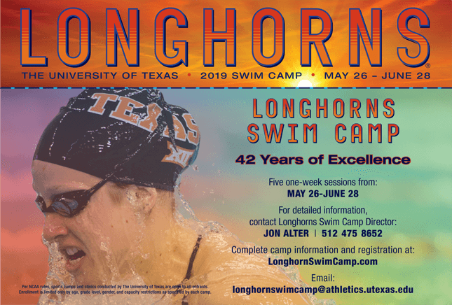 2019 Longhorns Swim Camp