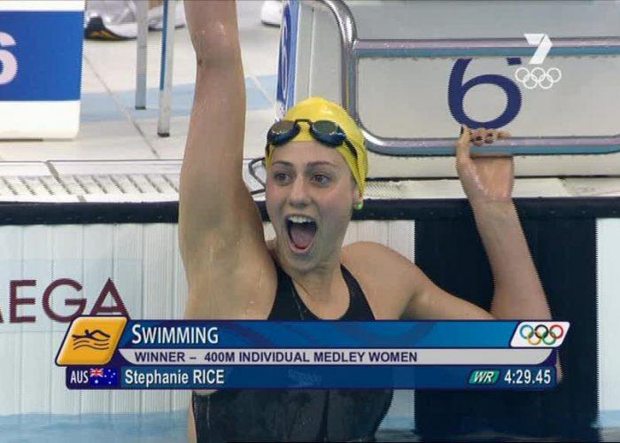 Stephanie Rice World Record