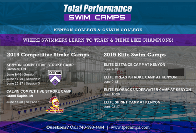 2019 Total Performance Swim Camp