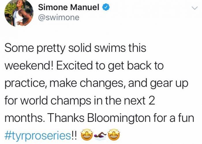 Simone-Manuel-Tweet