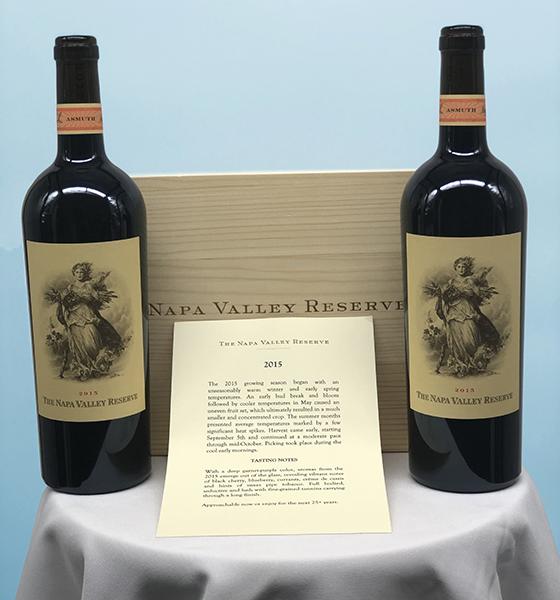 2015 Napa Valley Reserve wine