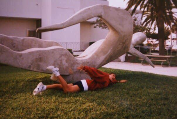amy lingg photo swimmer statue ishof