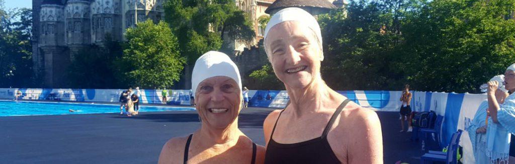 Marjorie Anderson Synchronized Swimmer