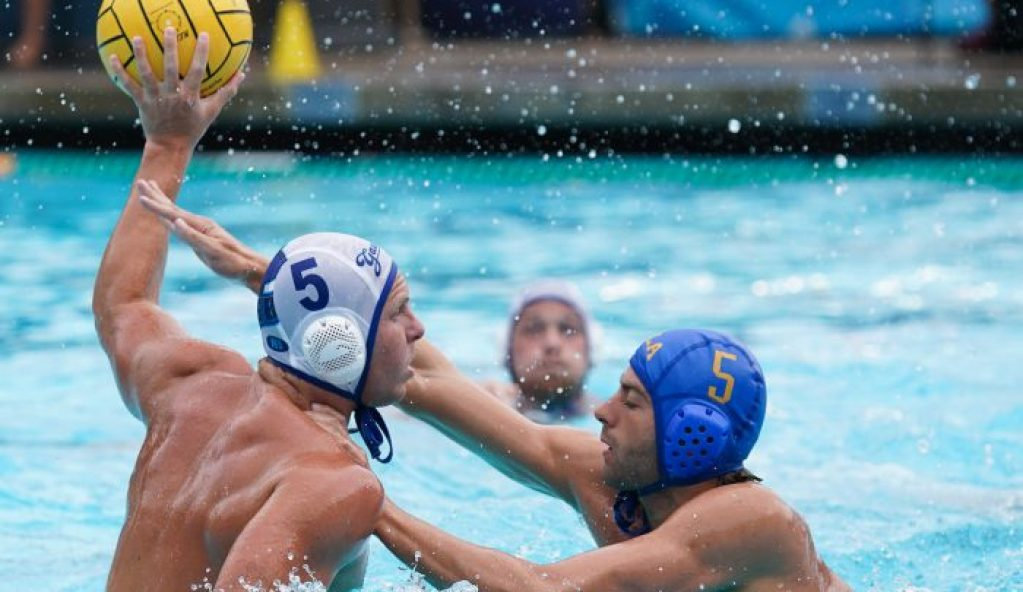 September 28, 2019; Spieker Aquatics Complex, Los Angeles, CA, USA; MWP: UC Santa Barbara Gauchos vs UCLA Bruins; Photo credit: Catharyn Hayne