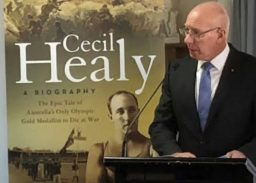 David Hurley launches Cecil Healy Book