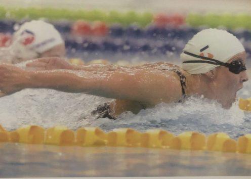 Susie O'Neill Courtesy Darrin Braybrook (Swimming Australia)
