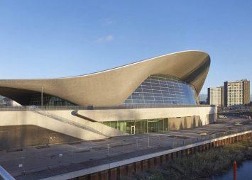 Aquatics centre exterior