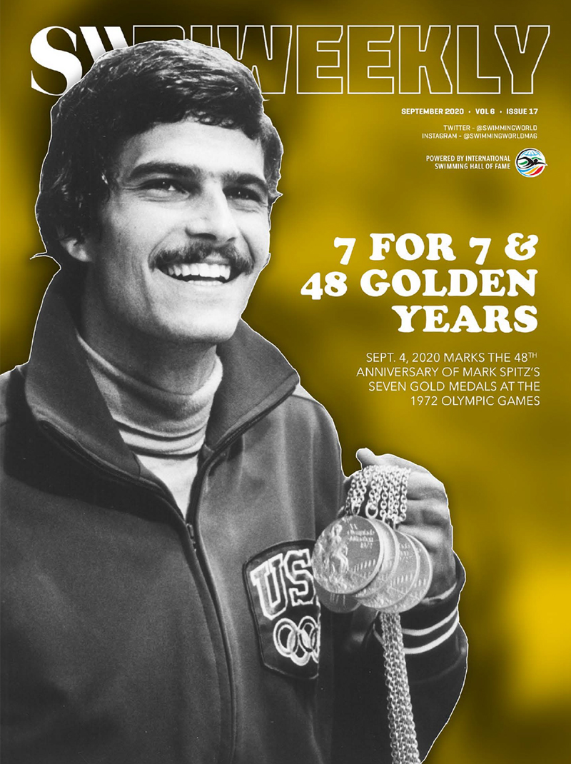 SW Biweekly September 7 2020 - Mark Spitz -7 For 7 - The 48th Anniversary of the 1972 Olympics