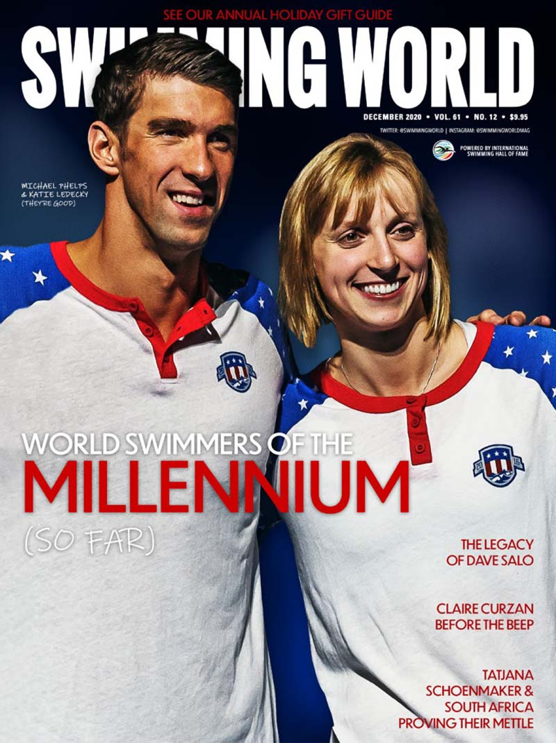 SW December 2020 - World Swimmers of the Millenium (So Far) Cover