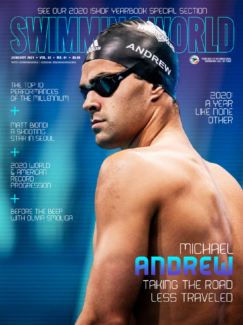 SW January 2021 - Cover - Michael Andrew - Taking the Road Less Traveled