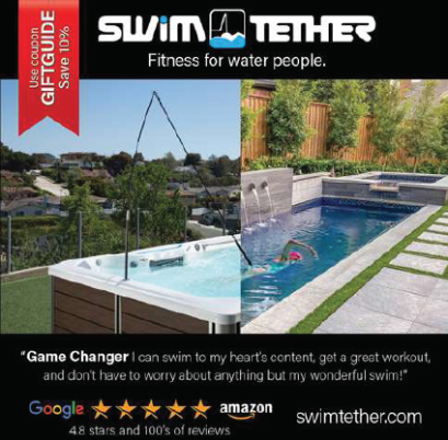 Swim Tether ad 2020