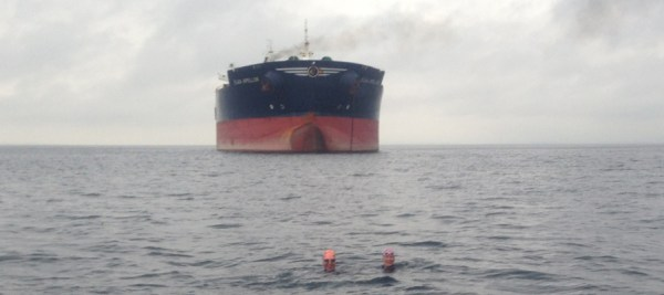 Tanker for anker