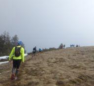 Trail du Petit Ballon - kurz vor dem Gipfel