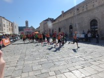 Start zum Sprint SwimRun Hvar