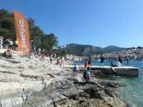 SwimRunner beim SwimRun Hvar Sprint