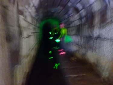 SwimRun Revierguide Franken - im Tunnel