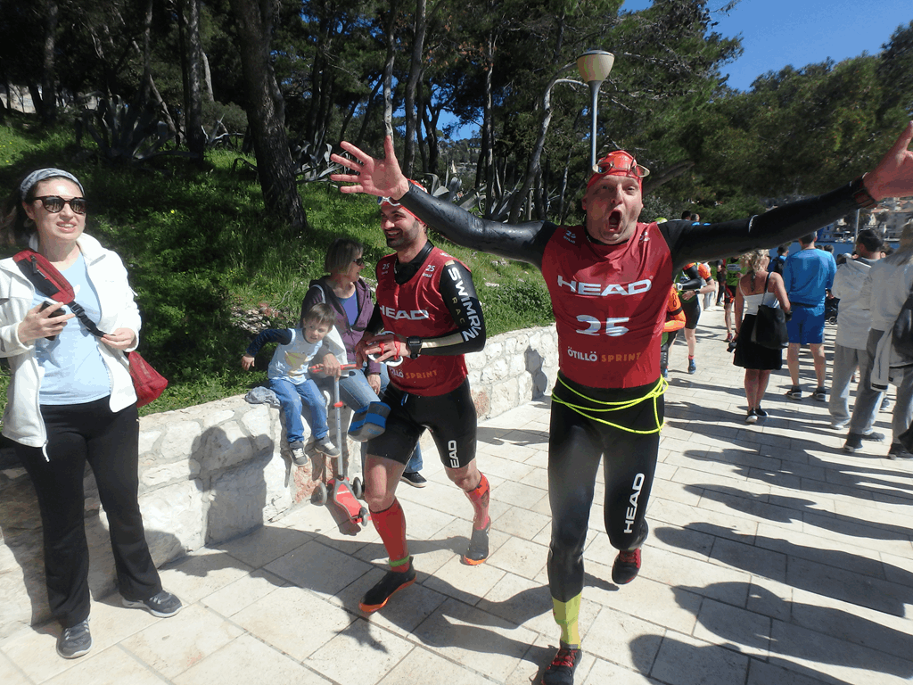 Hvar 2018 Sprint 2 - Foto: SwimRun Germany