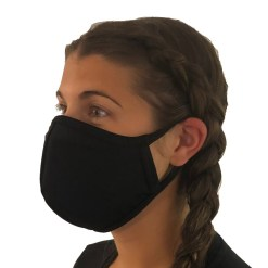 lifeguard mask black