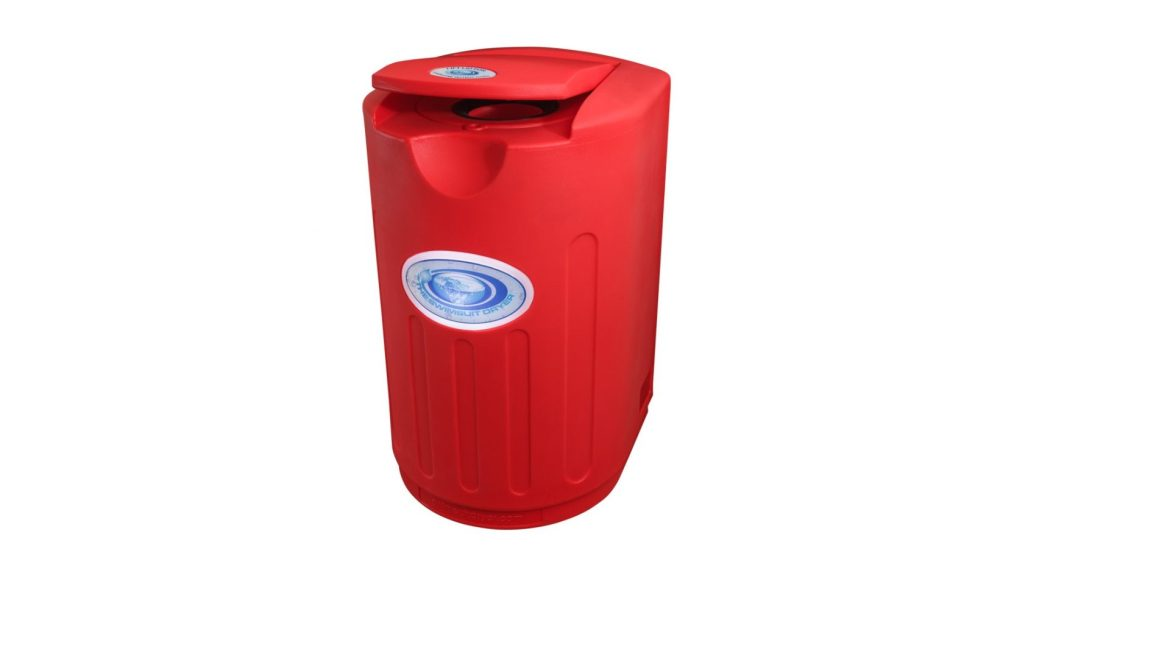 NEXT GENERATION SWIMSUIT DRYER – WALL MOUNTED – LONDON RED