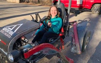 Exploring Trails as a Wheelchair User: My Experience Driving a Spider Car, Rosie Roaming, January 24 2021