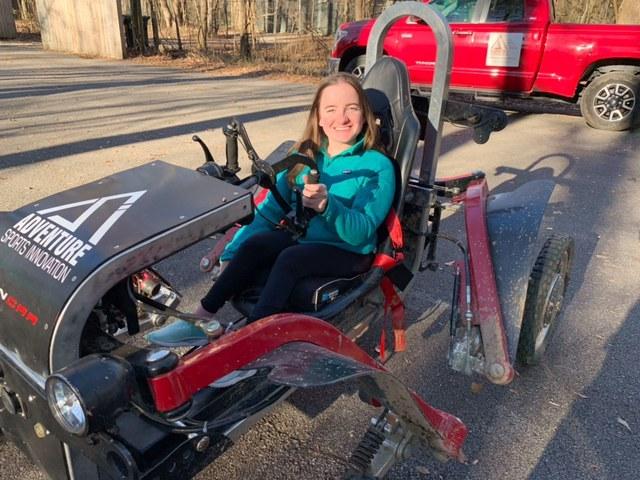 wheel chair driver with swincar