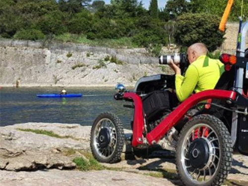 Swincar accessible