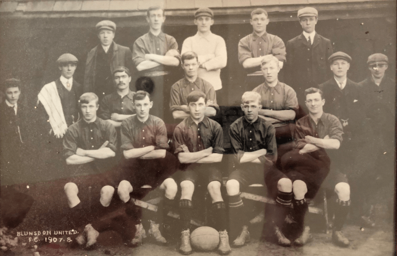 1907-1908 Season Team Photo