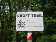 Croft wood bike trail
