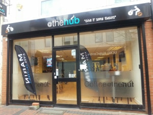 @thehub coffee shop Swindon