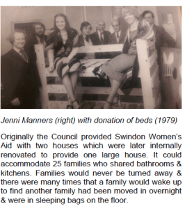 Extract from Swindon Women's aid newsletter