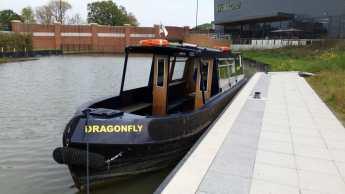 a narrow boat