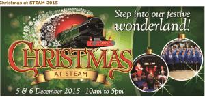advert steam christmas fair