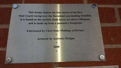 Art work signage