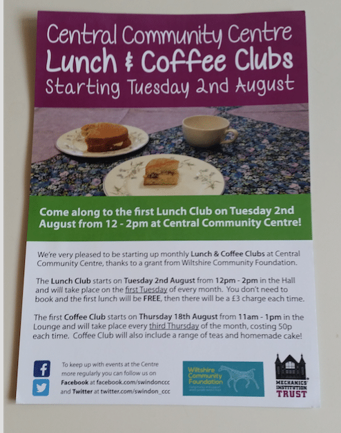 Lunch and coffee club