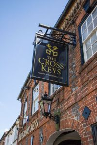 cross keys inn sign