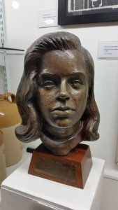 Bust of Diana Dors