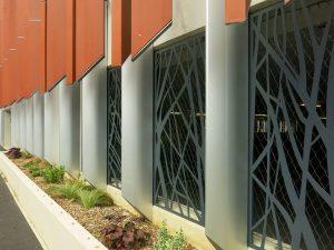 side panels in Whalebridge car park