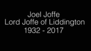 Lord Joel Joffe