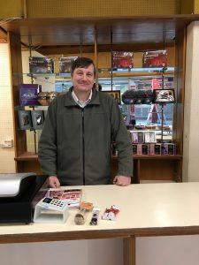 Ian - Choc shop owner