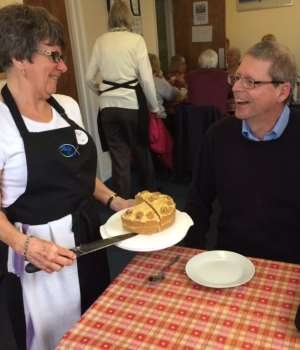 finding self and community in swindon - Rock cafe St John's Church