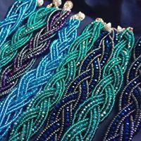 plaited bracelets