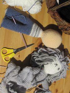 Swindon celebrities get knitted