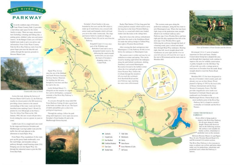 River Ray Brochure (map side)